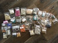 Craft supplies beads wire jewellery job lot