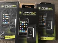 Powermat wireless charging case for iphone 3GS