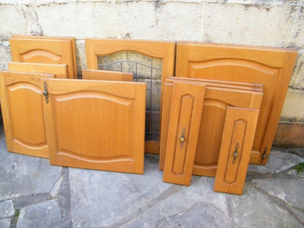 Solid Beech Kitchen Cabinet Doors Drawer Fronts In Paignton