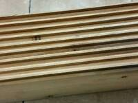 Floor boards TONG & GROOVE 9 in total L122cm W12.5cm Thickness 1.5cm