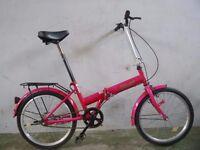 Folding bike 2677A