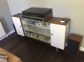 Wooden side cabinet