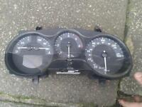 seat leon 06 speedo clock