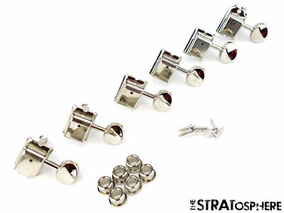 NEW Ping Vintage TUNERS for Fender Stratocaster Strat Tele Nickel SPEC-S1-N