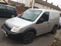 Transit connect T200lx, 2004/04, long mot, swap bigger van or cash sale