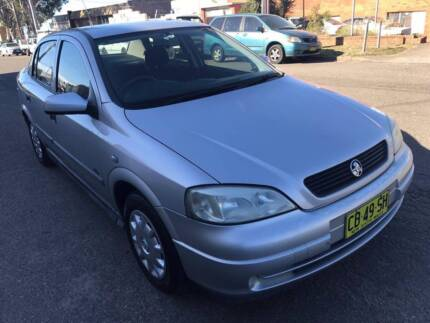 2001 HOLDEN ASTRA MANUAL WITH 260971KLM & 10.11.2017 REGO