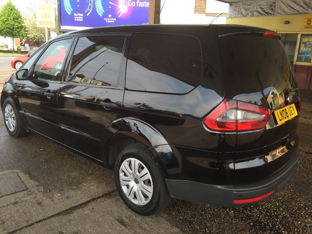 2008 ford galaxy 2 0 diesel automatic 7 seater black. Black Bedroom Furniture Sets. Home Design Ideas