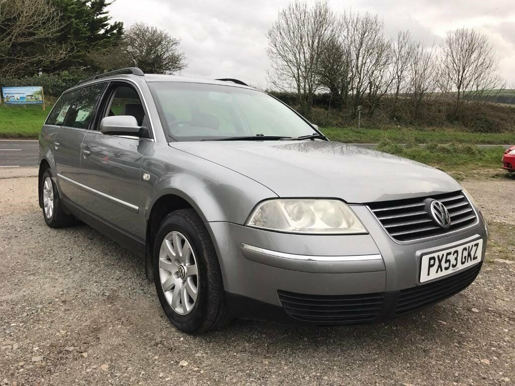 volkswagen passat se 1 9 tdi tiptronic auto estate grey 2003 leather diesel in newquay. Black Bedroom Furniture Sets. Home Design Ideas