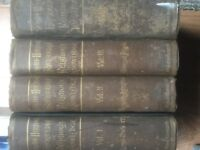 SCHAFF-HERZOG ENCLOPAEDIA OF RELIGIOUS KNOWLEDGE (1891) 4 VOL SET - BANGOR - £60 - NO SUNDAY CALLS
