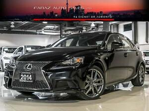 2014 Lexus IS 250 AWD|F-SPORT|NAVI|REAR CAMERA|LOADED