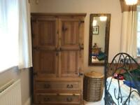 Bedroom furniture set: wardrobe, bedside cabinets, 2 x chest of drawers, chest