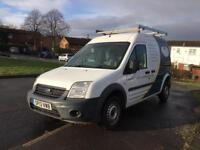 NO VAT 2013 50k FSH 110 bhp ford transit connect high roof top T230 salvage damaged cat d LWB