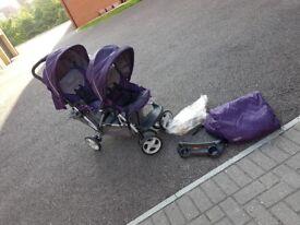 Graco stadium duo double buggy