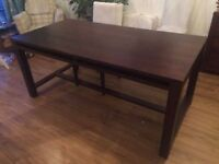6 Seater Habitat Dining Table