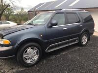 Lincoln Navigator 5.4 V8 Lpg converted / 7 seater / 4x4 / may part exchange