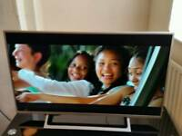 "43"" Sony 4K HDR UHD LED ULTRA SLIM LIGHTWEIGHT TV has remote"