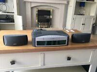 BOSE 3-2-1 HOME ENTERTAINMENT SYSTEM