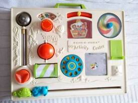 Vintage Fisher Price Baby Busy Board