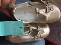 Baby girls monsoon shoes