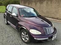 Rare/collectible PT Cruiser GT 2.4. Maroon. LOW MILEAGE, New MOT, great drive