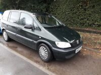 Vauxhall Zafira 2002 SPARES/REPAIR - Runner: can be driven away - many new parts