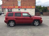 jeep patriot sports 6 speed manual 2.0 crd diesel 2008 with 12 months mot