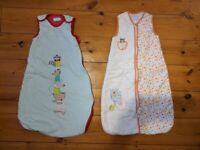 2x Grobags 6-18 months 2.5 tog