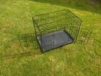 Dog crate 76cm X 53cm X 48cm