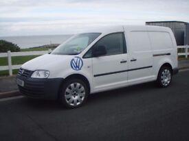 2010 VW CADDY MAXI 105 VAN ONE OWNER NO VAT