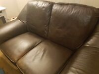 FREE!!! Leather sofa. FREE!!!!