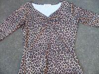 Ladies Heartbreaker leopard print top for sale
