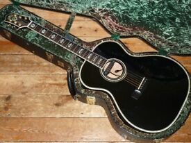 Guild USA Custom Shop Valencia acoustic with Fishman Rare Earth Blend pickup