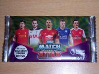 Match Attax 16/17 cards to swap