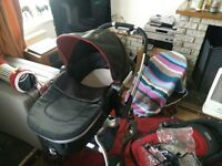 Graco Symbio travel system pushchair pram