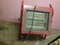 Infrared Halogen Heater 1.5/3kW 230V Pick up from se20, south east london