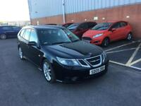 2009 Saab 9-3 1,9 litre diesel 5dr estate automatic 2 owners FSH