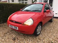 Ford ka new 12 months mot flashy red cheap insurance first car learner driver university commuting