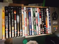 26 DVD's for sale Marvel films, Comedies, Drama