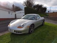 Porsche boxster convertible 2.7 with hard top and Carrera wheels