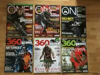 Collection of Xbox One/ 360 Gamer Magazines