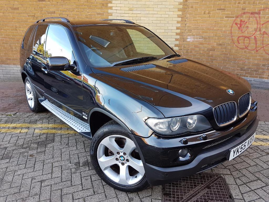 BMW X5 3.0d Sport Auto (black) 2005