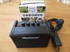 Blackstar Fly 3 watt amp with mains power lead. Excellent condition.