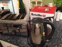 Breville 4 slice Toaster and Kettle