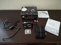 Black Nikon COOLPIX L23 10.1MP Digital Camera with Box and Accessories