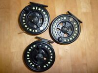 FLY FISHING TACKLE, RODS, REELS, ETC