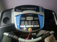 Roger black fitness machine - hardly used, in excellent condition