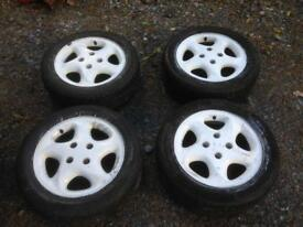 Citroen Saxo vts vtr alloy wheels 106 205 Ford 4x108 pcd