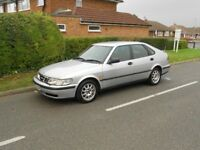 saab 9-3 se turbo automatic 1 owner from new full service history september 18 mot hpi clear