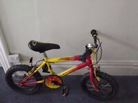 boy's bicycle Sturdy boys bike boy bike - nice flame red colour - Great Condition! moving overseas!