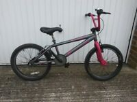 Child's BMX Bike suitable 7 to 9 years just been serviced in excellent working order